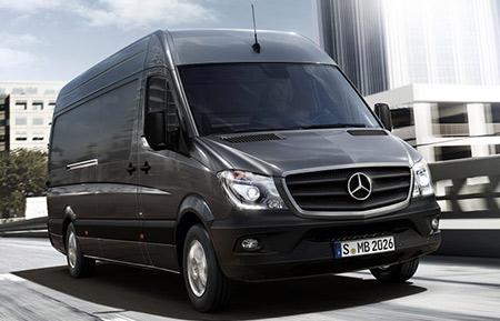 Vans mercedes benz commercial for Mercedes benz work van commercial