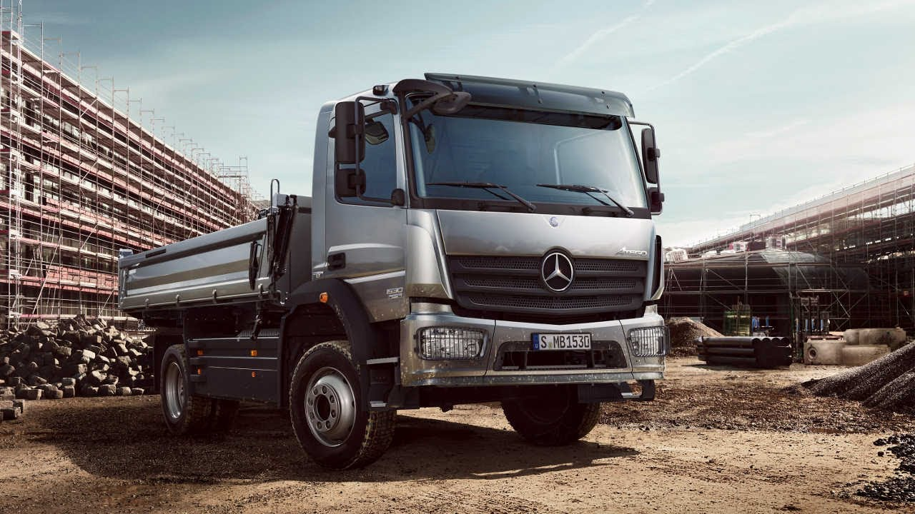Atego trucks mercedes benz commercial for Mercedes benz commercial