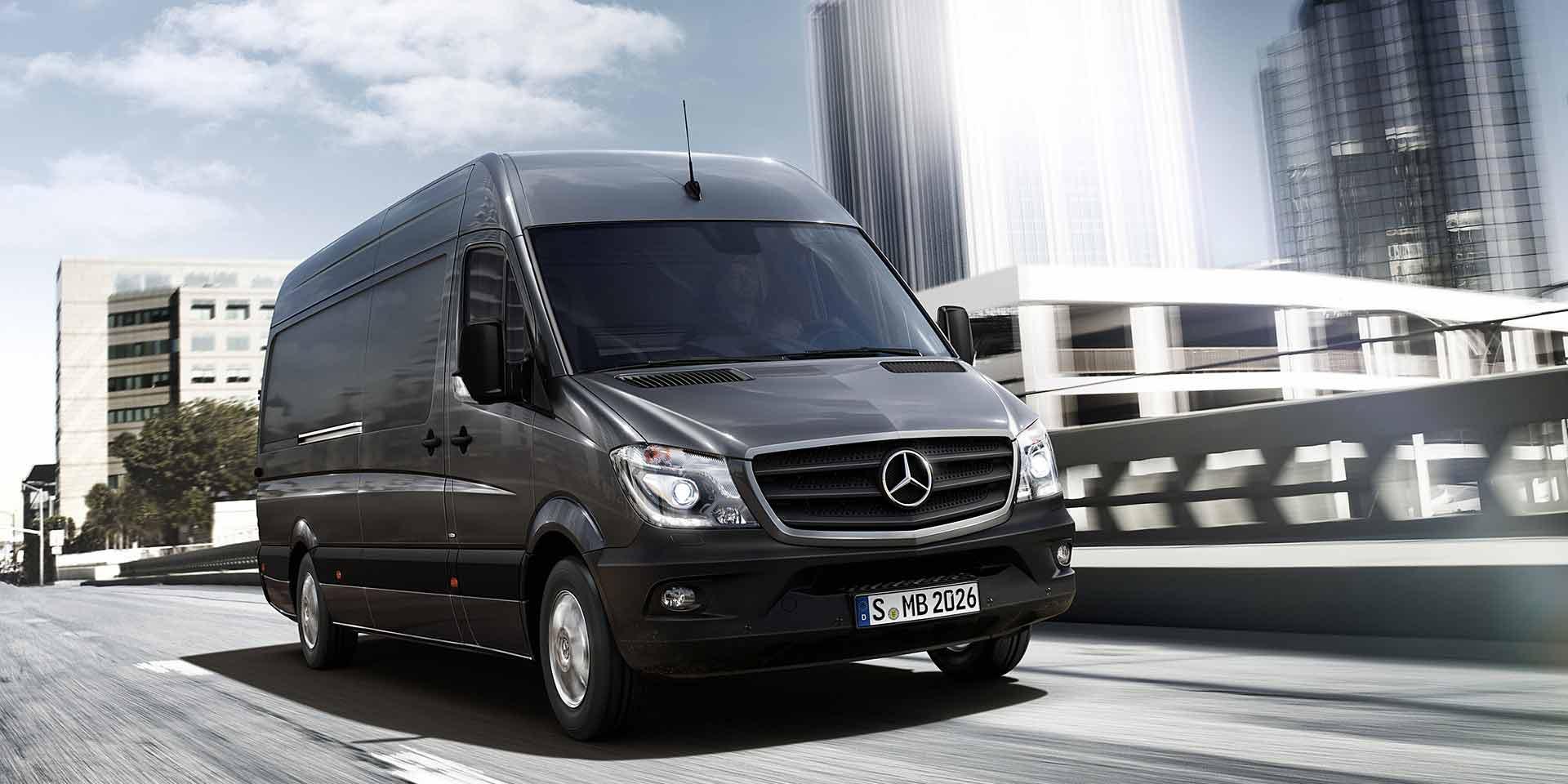 Sprinter vans mercedes benz commercial for Mercedes benz sprinter towing capacity